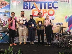 DPMPTSP Cilacap Raih Penghargaan Stand Terbaik Ke-3 Pada BIATTEC EXPO 2019