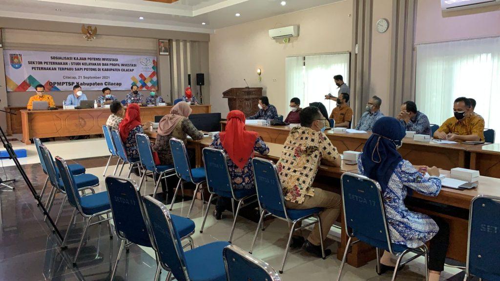Sosialisasi Studi Kelayakan Dan Profil Investasi Peternakan Terpadu Sapi Potong Di Kabupaten Cilacap